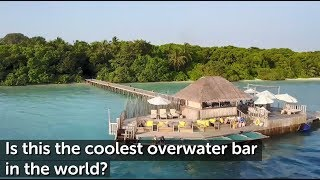 Coolest Bar in the World | Travel to the Maldives