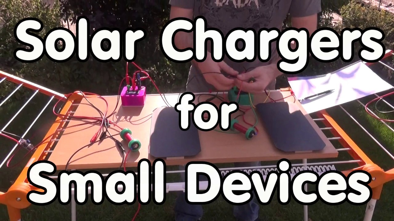 #154 Solar Charger for Microcontrollers