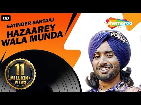 New Punjabi Songs   Satinder Sartaaj   Jatinder Shah   Latest Album   Hazaarey Wala Munda
