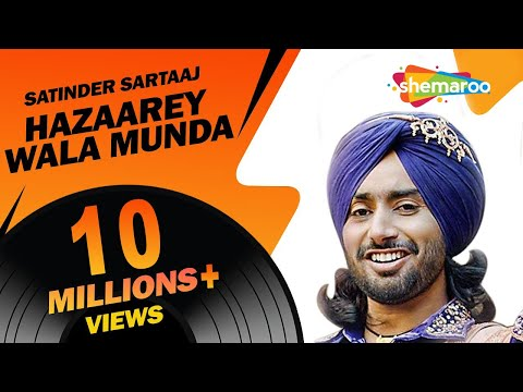 New Punjabi Songs  | Satinder Sartaaj | Jatinder Shah | Latest Album | Hazaarey Wala Munda