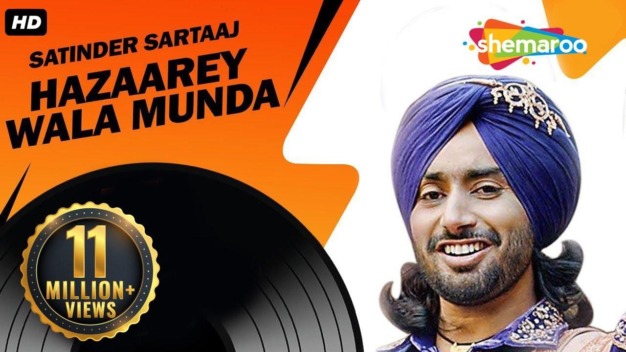 New Punjabi Songs  | Satinder Sartaaj | Jatinder Shah | Latest Album | Hazaarey Wala Munda #1