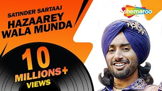 New Punjabi Songs 2016 | Satinder Sartaaj | Hazaarey Wala Munda | Jatinder Shah | Latest Album
