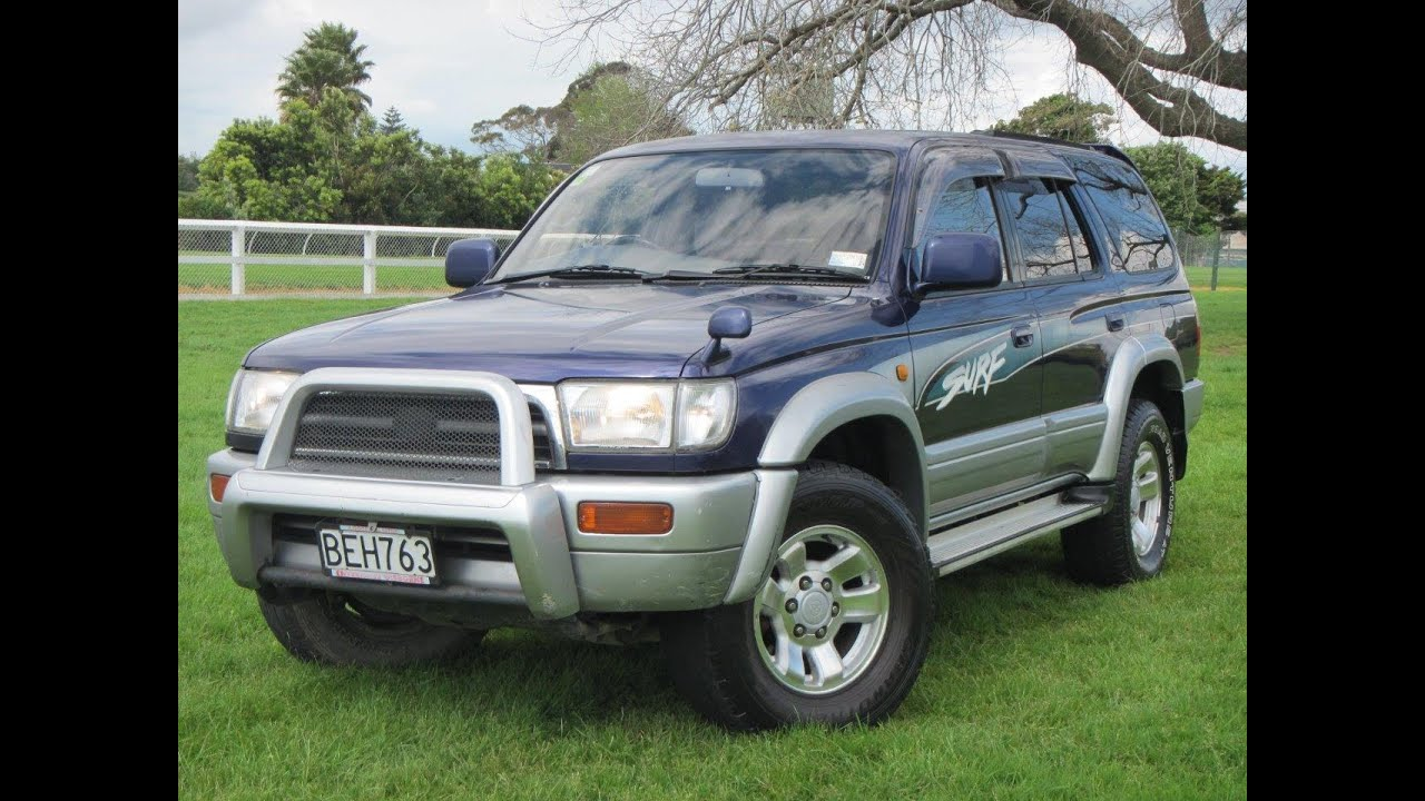 1996 toyota hilux surf ssr g suv 1 reserve cash4cars cash4cars sold youtube