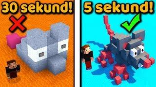 JAK BUDOWAĆ JESZCZE SZYBCIEJ! - Minecraft | ZIO