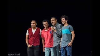 Hisham Elgakh -هشام الجخ يقدم الشعراء إبراهيم فرج وعبد الله عفيفي وعبد الرحمن أشرف في حفل الاسكندرية