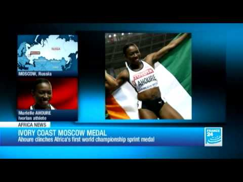 Ahouré clinches Africa's first world championship sprint medal