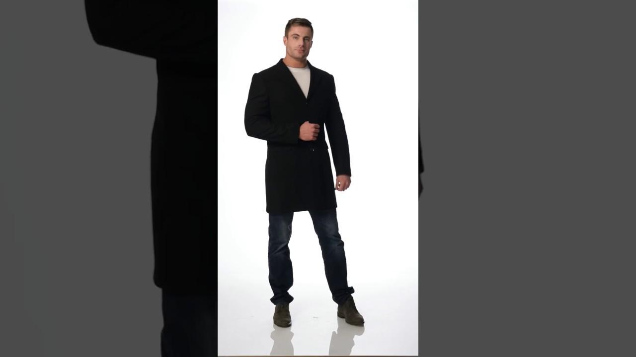 Мужское пальто от модного французского бренда одежды Berluti: ID .