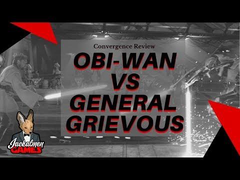 Convergence Starter Decks: General Grievous vs Obi-Wan