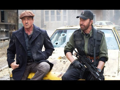 THE EXPENDABLES 2 - Sylvester Stallone, Chuck Norris - Movie Review (Trailer HD)