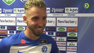 Fabian Serrarens na De Graafschap-Feyenoord: 'Dit worden mooie dagen'
