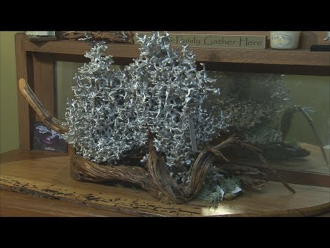 Anthill Sculptures (Texas Country Reporter)