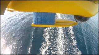 UAV Fulmar Aerovision 2010 Sea Landing