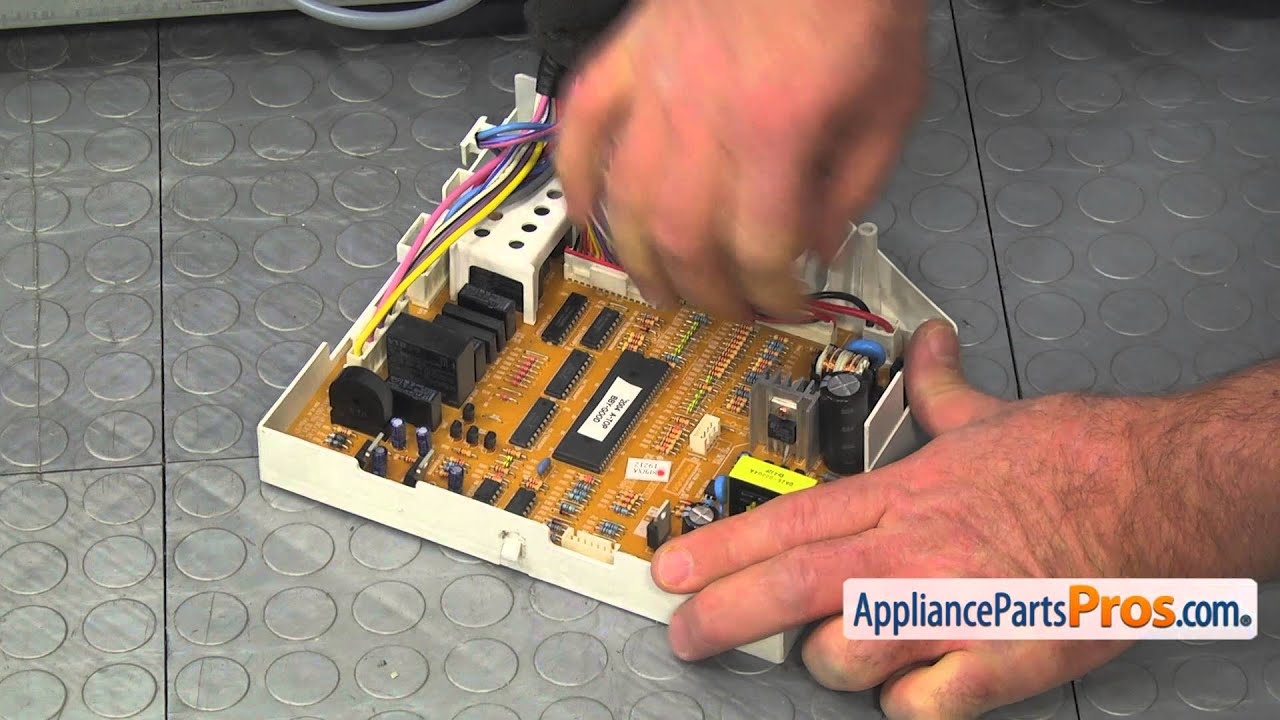 Refrigerator Main Control Board (part #DA41-00134F) - How To Replace
