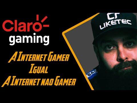 Claro lança internet Gamer e é Claro que não funciona