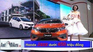 Sốc: Honda Jazz giảm dưới 450 triệu đồng, bán ô tô lãi khủng