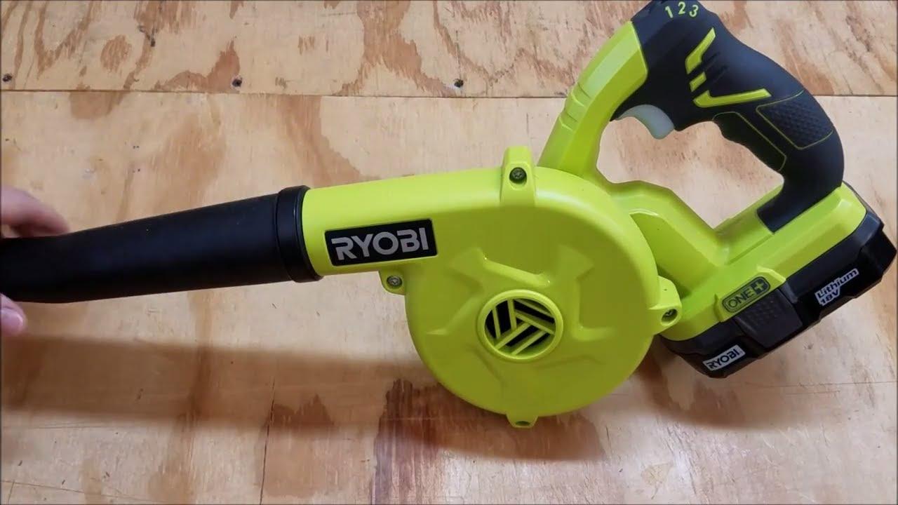Ryobi One+ 18V Workshop Blower Review