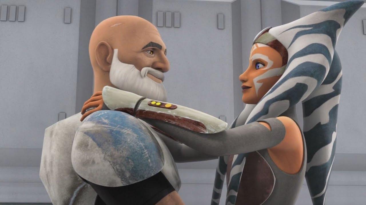 Star Wars Rebels - Ahsoka Tano and Rex reunite [1080p] - YouTube