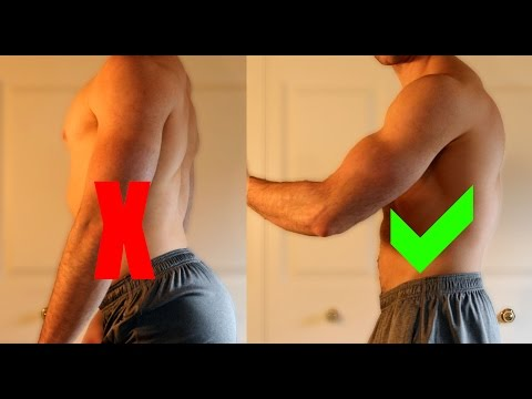 How to Fix Anterior Pelvic Tilt