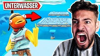 NOOB UNTERWASSER DEATHRUN in Fortnite ..