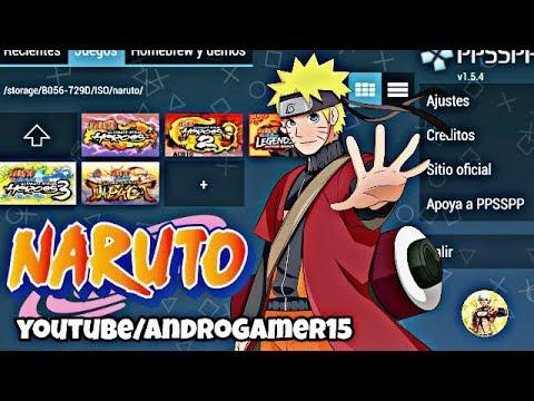 Demostración Juegos De Naruto PPSSPP + Configuración [ISO] 2018