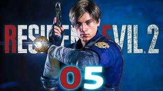 RESIDENT EVIL 2 PL #05 - Emblematy zdobyte! Piwnica!
