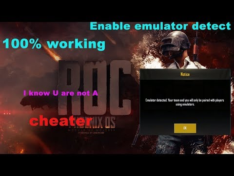 Download How To Enable Emulator Detected In Phoenix Os Roc MP3, MKV
