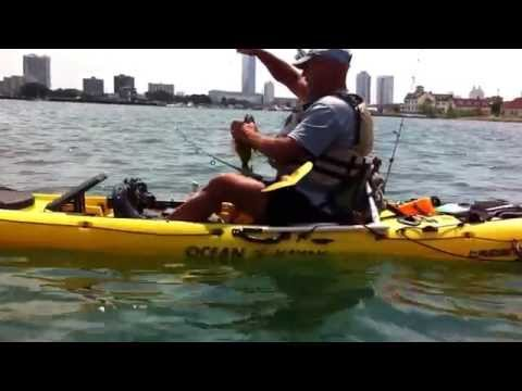 U.G.F.N.  Kayak fishing the Absecon Inlet Atlantic City
