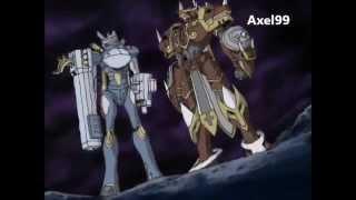 AMV Digimon Frontier - Batalla contra los caballeros de la realeza