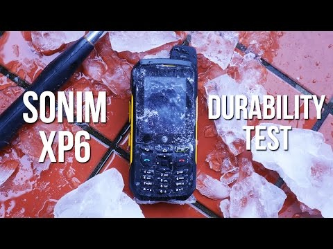 Sonim XP6 durability test: is this smartphone indestructible?