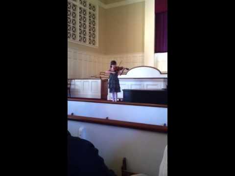 Lucia's First Recital