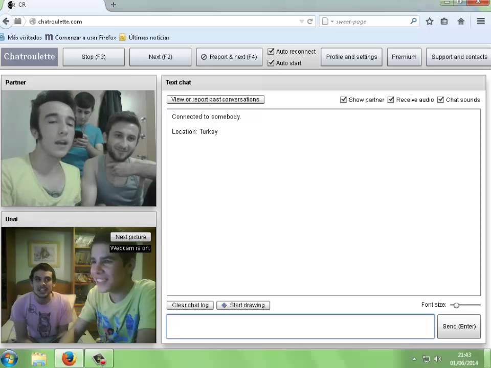 Chatroulette gay english