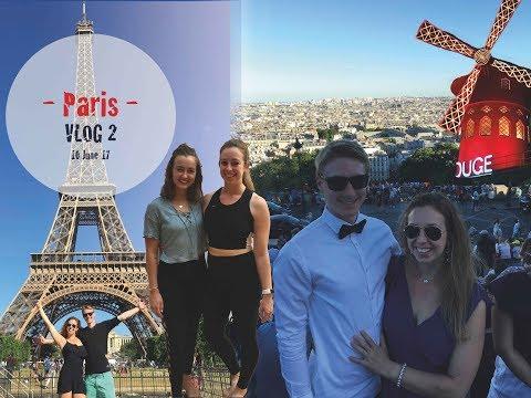 PARIS VLOG 2  - Jessica Olie's Yoga Workshop, Montparnasse, Sacre Coeur, Moulin Rouge, Louvre + MORE