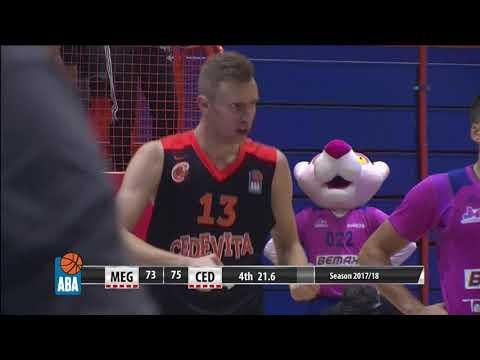 KEY MOMENT: Džanan Musa scored a 3-point play (Mega Bemax - Cedevita, 28.10.2017)