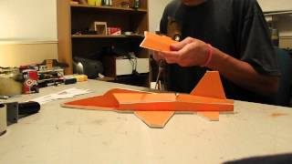 building a mini f5 fighter jet time laps