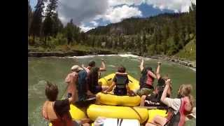 Snake River Whitewater Rafting - Jackson Hole - Lunch Counter Rapid