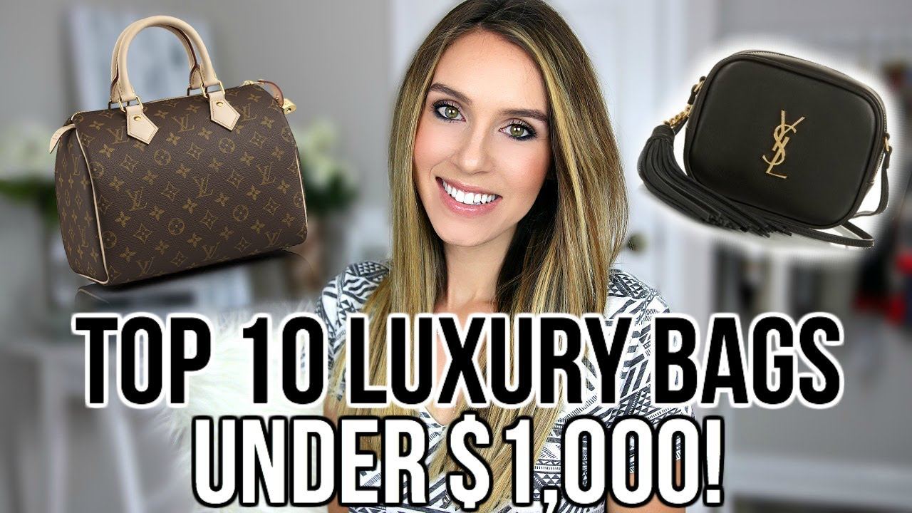 TOP 10 BEST LUXURY DESIGNER BAGS UNDER  1 4b6971d1cf40f