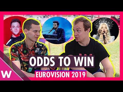 Eurovision 2019 odds to win: The Netherlands, Australia, Switzerland