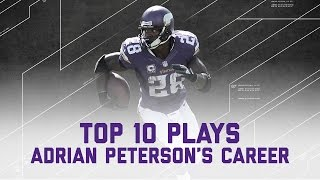 Adrian Peterson's Top 10 Plays of His Career...So Far | NFL