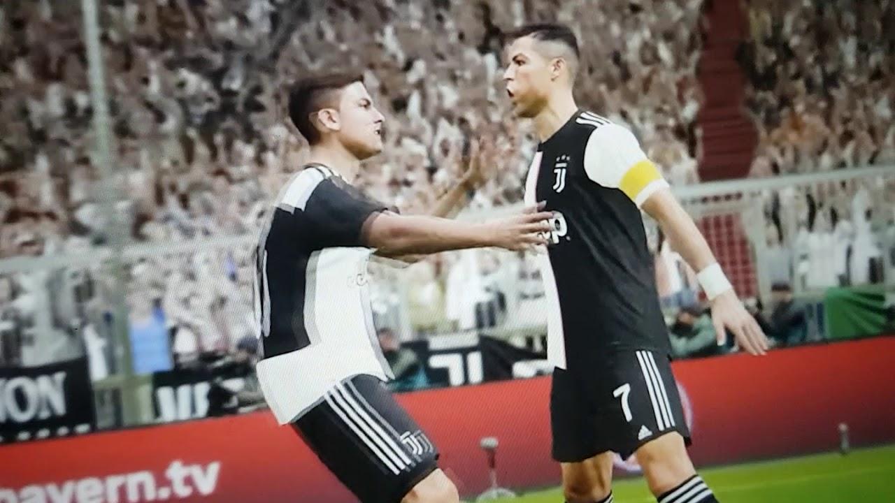 Juventus vs Barcelona pes 2020 - YouTube