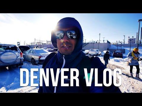 FREEZING IN DENVER, COLORADO 🇺🇲  | TRAVEL VLOG [4K]