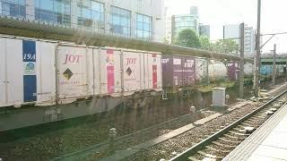 EF210-155 貨物列車 コキ110、コキ100etc…