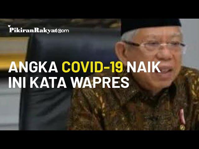 Jumlah Covid-19 di Indonesia Terus Naik, Ma'ruf Amin: Akan Segera Terasa Meningkatnya Kemiskinan