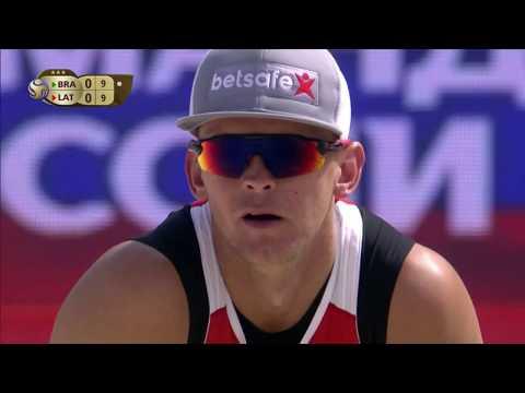 Alison/Bruno Schmidt vs Smedins/Samoilovs (Quarterfinals) MOSCOW WT3 2017