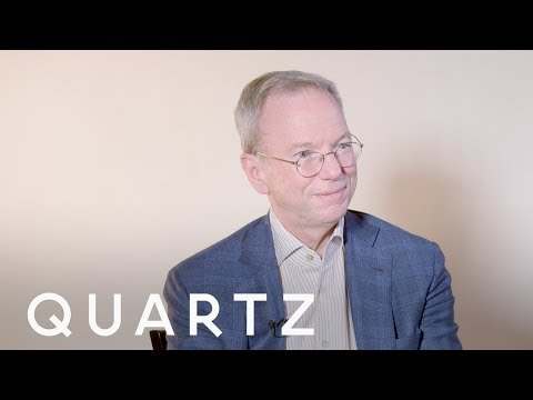 Former Google CEO Eric Schmidt discusses why Silicon Valley needs coaches