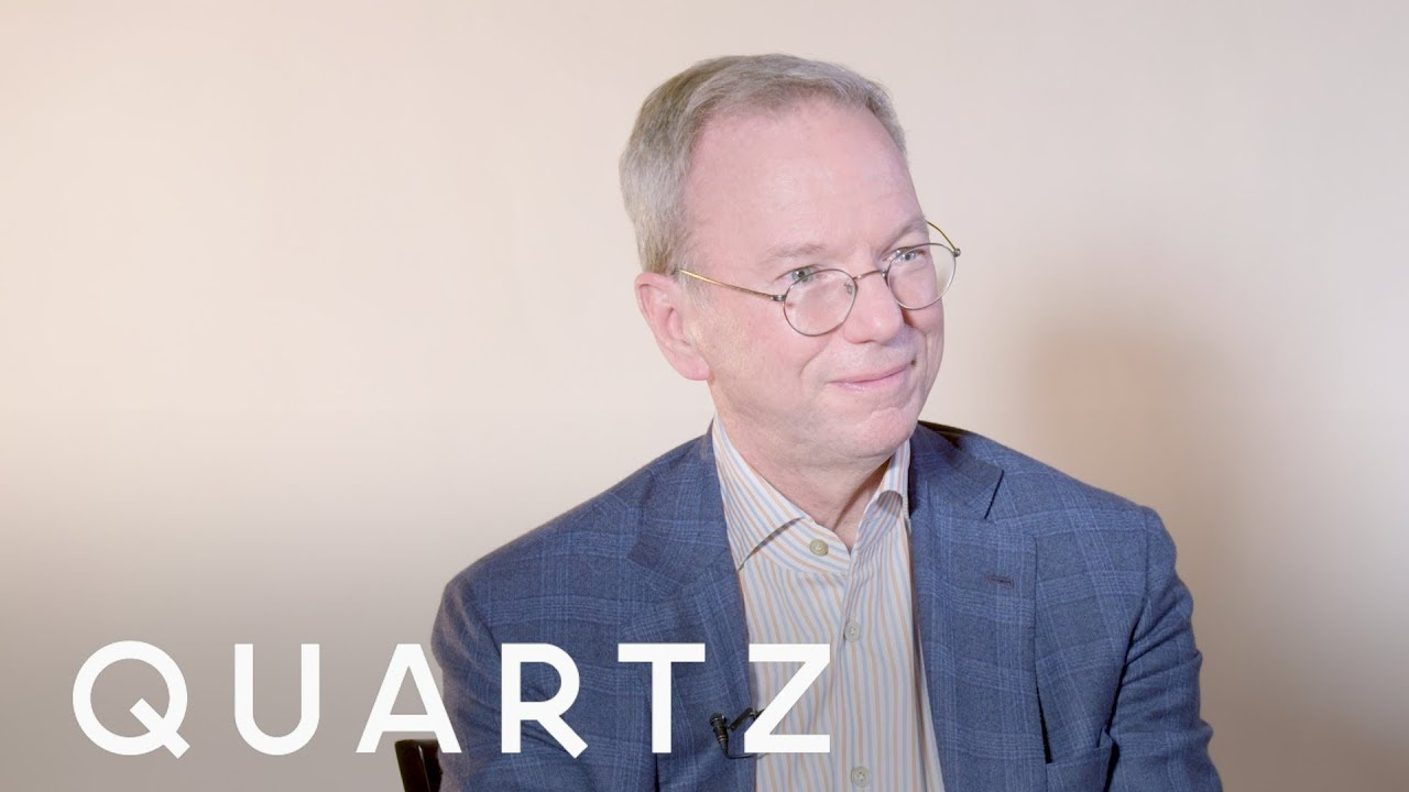 Former Google CEO Eric Schmidt on why Silicon Valley needs coaches