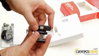 Web Camera Genius facecam 3000 - Unboxing by www.geekshive.com
