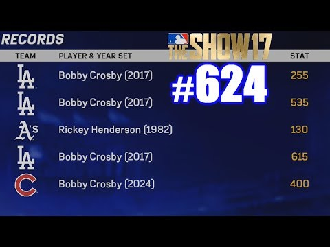 MY MLB RECORDS!   MLB The Show 17   Road to the Show #624