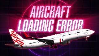 Aircraft Loading Error