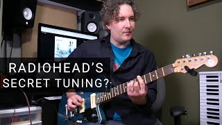 Andy's Corner - Secret Radiohead Tuning?