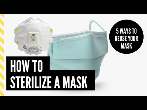how-to-sterilize-a-face-mask-|-supplies-running-out-|-coronavirus-|-covid-19